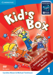 KID'S BOX 1 DVD