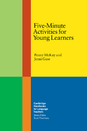 FIVE-MINUTE ACTIVITIES FOR YOUNG LEARNERS