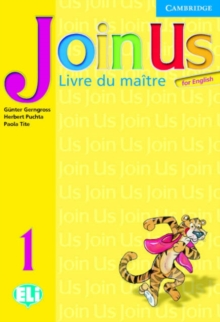 JOIN US FOR ENGLISH 1 TEACHER'S BOOK (FRENCH)