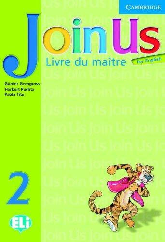 JOIN US FOR ENGLISH 2 TEACHER'S BOOK (FRENCH)