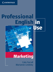 PROFESSIONAL ENGLISH IN USE: MARKETING