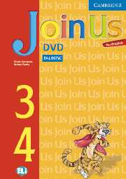JOIN US FOR ENGLISH 3 & 4 DVD