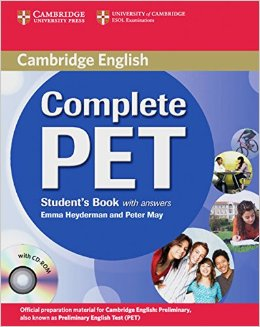 COMPLETE PET STUDENT'S BOOK WITH ANSWERS + CD-ROM + CDS (2)