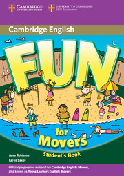 FUN FOR MOVERS 2ND EDITION PUPIL'S BOOK