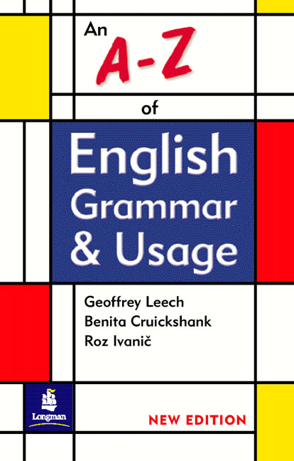 A-Z OF ENGLISH GRAMMAR & USAGE NEW EDITION