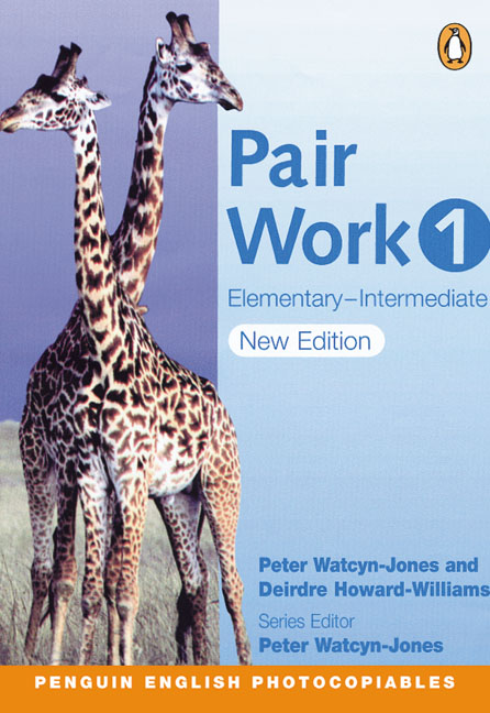 PAIR WORK 1 (PHOTOCOPIABLE)