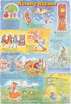 POSTER - NURSERY RHYMES
