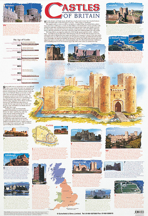 POSTER - CASTLES OF BRITAIN
