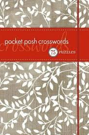 POCKET POSH CROSSWORD
