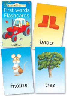 FIRST WORDS FLASHCARDS - USBORNE FARMYARD TALES