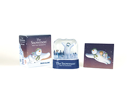 THE SNOWMAN AND THE SNOWDOG SNOW GLOBE