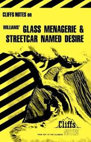 CLIFF NOTES ON WILLIAMS' GLASS MENAGERIE & STREETCAR NAMED DESIRE