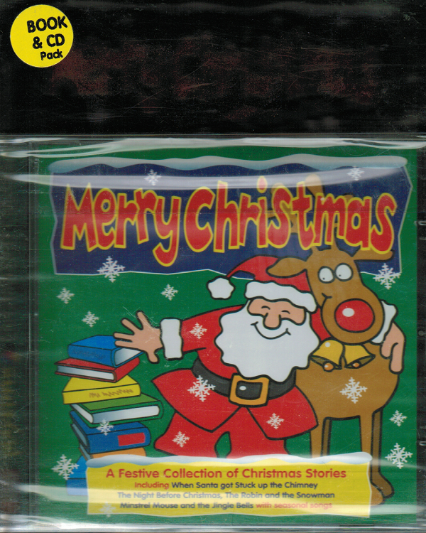 MERRY CHRISTMAS CD & BOOK