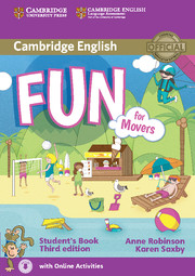 FUN FOR MOVERS (THIRD EDITION) STUDENT'S BOOK WITH AUDIO WITH ONLINE ACTIVITIES