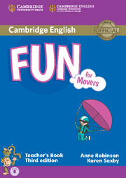 FUN FOR MOVERS (THIRD EDITION) TEACHER'S BOOK WITH AUDIO