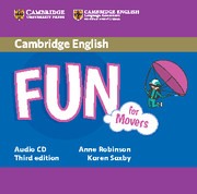 FUN FOR MOVERS (THIRD EDITION) AUDIO CDS (2)