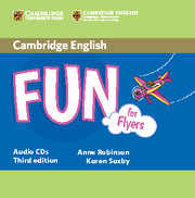 FUN FOR FLYERS (THIRD EDITION) AUDIO CDS (2)