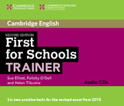 FIRST FOR SCHOOLS TRAINER 2ND EDITION AUDIO