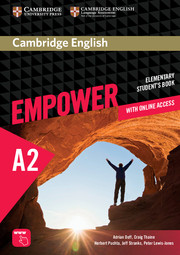 CAMBRIDGE ENGLISH EMPOWER ELEMENTARY STUDENT'S BOOK WITH ONLINE ASSESSMENT AND PRACTICE