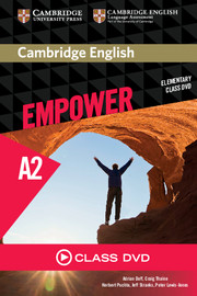 CAMBRIDGE ENGLISH EMPOWER ELEMENTARY CLASS DVD