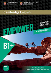 CAMBRIDGE ENGLISH EMPOWER INTERMEDIATE STUDENT'S BOOK WITH ONLINE ASSESSMENT AND PRACTICE