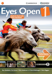 EYES OPEN 1 STUDENT'S BOOK WITH ONLINE WORKBOOK AND ONLINE RESOURCES