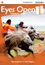 EYES OPEN 1 WORKBOOK WITH ONLINE RESOURCES