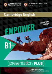 CAMBRIDGE ENGLISH EMPOWER INTERMEDIATE PRESENTATION PLUS DVD-ROM