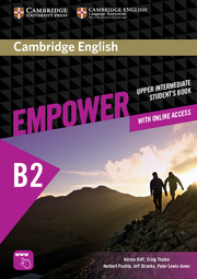 CAMBRIDGE ENGLISH EMPOWER UPPER-INTERMEDIATE STUDENT'S BOOK WITH ONLINE ASSESSMENT AND PRACTICE