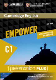 CAMBRIDGE ENGLISH EMPOWER ADVANCED PRESENTATION PLUS DVD-ROM