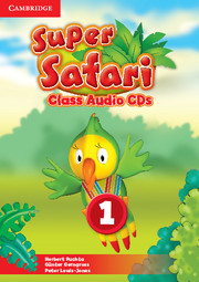SUPER SAFARI LEVEL 1 CLASS AUDIO CD (2)