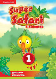SUPER SAFARI LEVEL 1 FLASHCARDS (PACK OF 40)