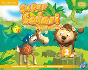 SUPER SAFARI LEVEL 2 PUPIL'S BOOK WITH DVD-ROM