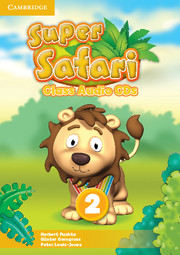 SUPER SAFARI LEVEL 2 CLASS AUDIO CD (2)
