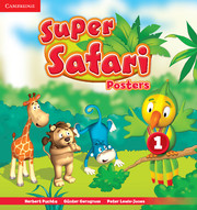 SUPER SAFARI LEVELS 1-3 POSTERS (10)