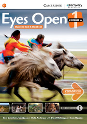 EYES OPEN 1 COMBO A WITH ONLINE WORKBOOK AND ONLINE RESOURCES