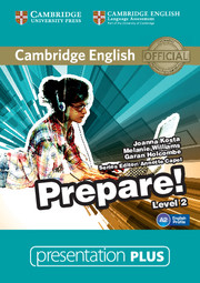 CAMBRIDGE ENGLISH PREPARE! 2 PRESENTATION PLUS DVD-ROM