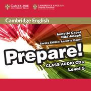 CAMBRIDGE ENGLISH PREPARE! 5 CLASS AUDIO CDS (2)