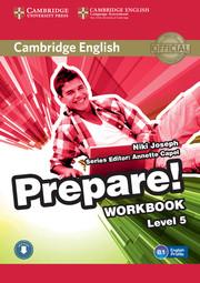 CAMBRIDGE ENGLISH PREPARE! 5 WORKBOOK WITH AUDIO