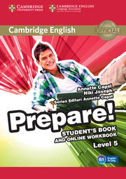 CAMBRIDGE ENGLISH PREPARE! 5 STUDENT'S BOOK AND ONLINE WORKBOOK