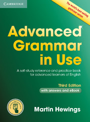 ADVANCED GRAMMAR IN USE 3RD ED. WITH ANSWERS AND EBOOK VERSION