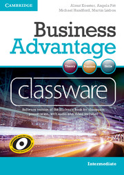 BUSINESS ADVANTAGE INTERMEDIATE CLASSWARE DVD-ROM