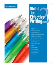 SKILLS FOR EFFECTIVE WRITING 2 STUDENT'S BOOK