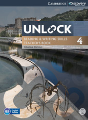 UNLOCK 4 READING AND WRITING SKILLS TEACHER'S BOOK WITH DVD
