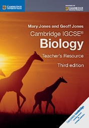 CAMBRIDGE IGCSE BIOLOGY TEACHER'S RESOURCE CD-ROM