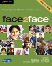 FACE2FACE SECOND EDITION ADVANCED STUDENT'S BOOK WITH DVD-ROM AND ONLINE WORKBOOK PACK