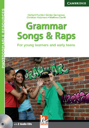 GRAMMAR SONGS AND RAPS + CD