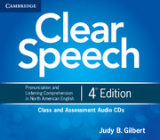 CLEAR SPEECH 4TH EDITION CLASS AND ASSESSMENT AUDIO CDS (4)