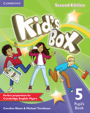 KID'S BOX 5 SECOND EDITION PUPIL'S BOOK