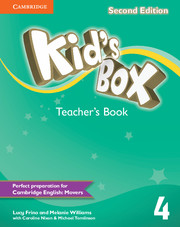 KID'S BOX 4 SECOND EDITION TEACHER'S BOOK